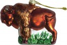 buffalo_brown_christmas_ornament